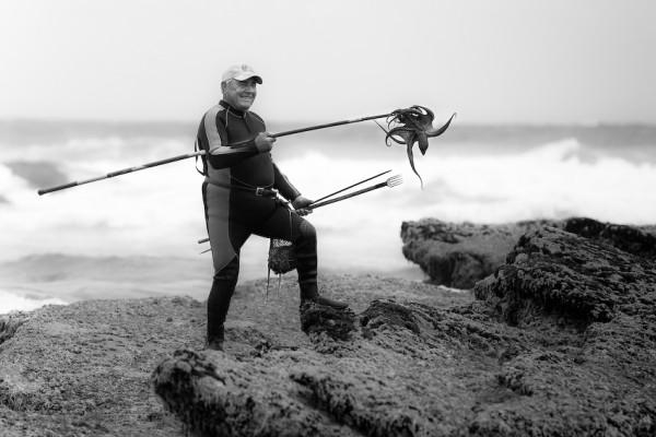 Octopus catcher, Portugal