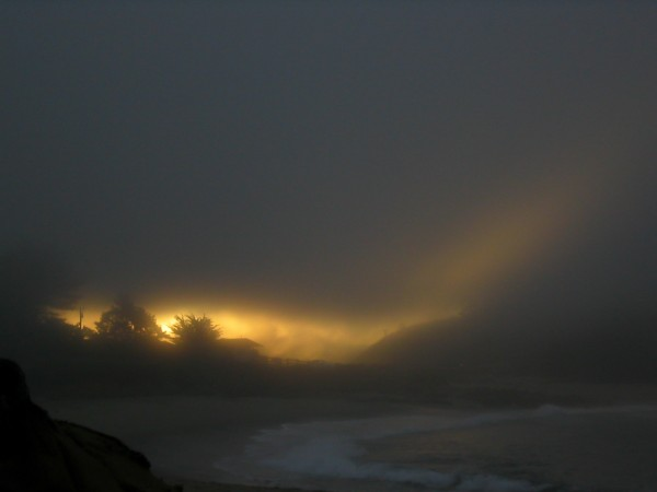 Sunrise, West Coast USA