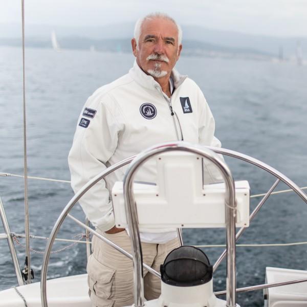 Sailing portrait : Živko Matutinović